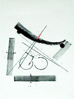 Lithographie von Gabriela von Habsburg
